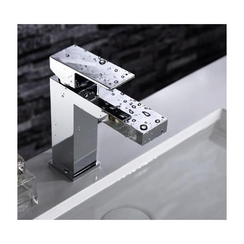 Mitigeur lavabo monocommande chromé série NANTES - IMEX