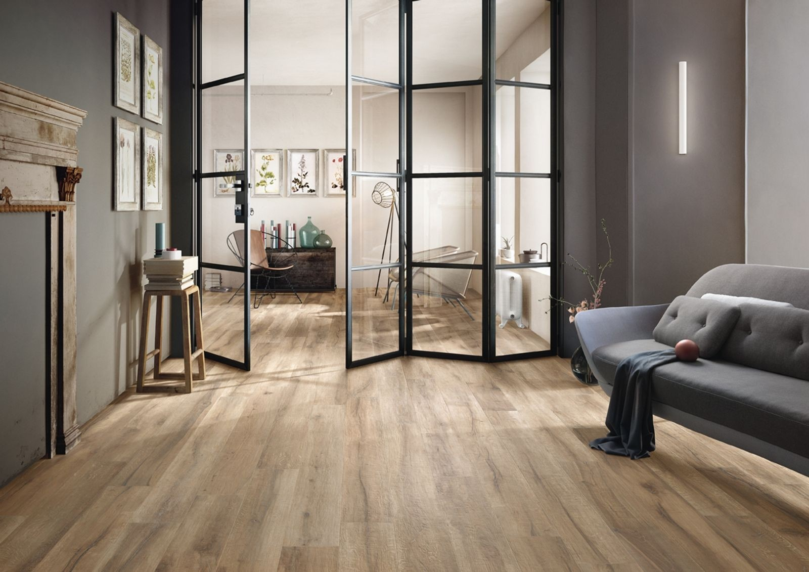 Carrelage intérieur KUNI 20x120 rectifié - IMOLA CERAMICA
