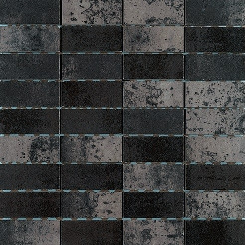 Mosaic interieur CORTEN 30x30 rectifié - TAU CERAMICA