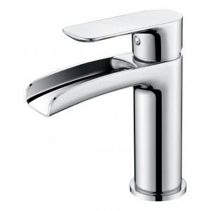 Mitigeur lavabo bec cascade chromé série YETI - OTTOFOND