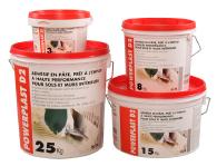 Colle carrelage en pâte POWERPLAST sceau de 3 kg - BENFER