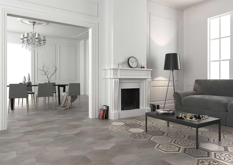 Carrelage intérieur TIMELESS 34,5x40 hexagonal - HERBERIA