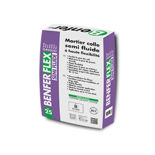 Colle carrelage benferflex semi fluide 25kg - BENFER