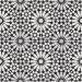 Véritable Carreau ciment motif ROSACE  20x20 -  MOSAICSAHARA