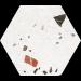 Carrelage intérieur hexagonal SONAR 22x25 - CODICER 95
